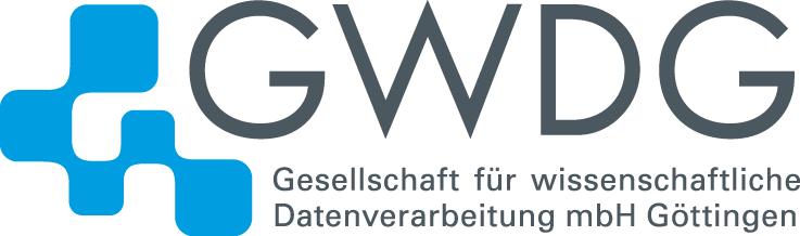 Logo GWDG Digitalmedien mit Unterzeilen